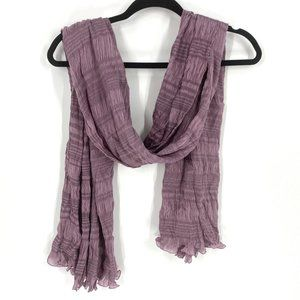 Burberry | Authentic Silk Blend Ruched Scarf
